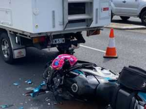 Motorcyclist hospitalised after Pacific Highway crash