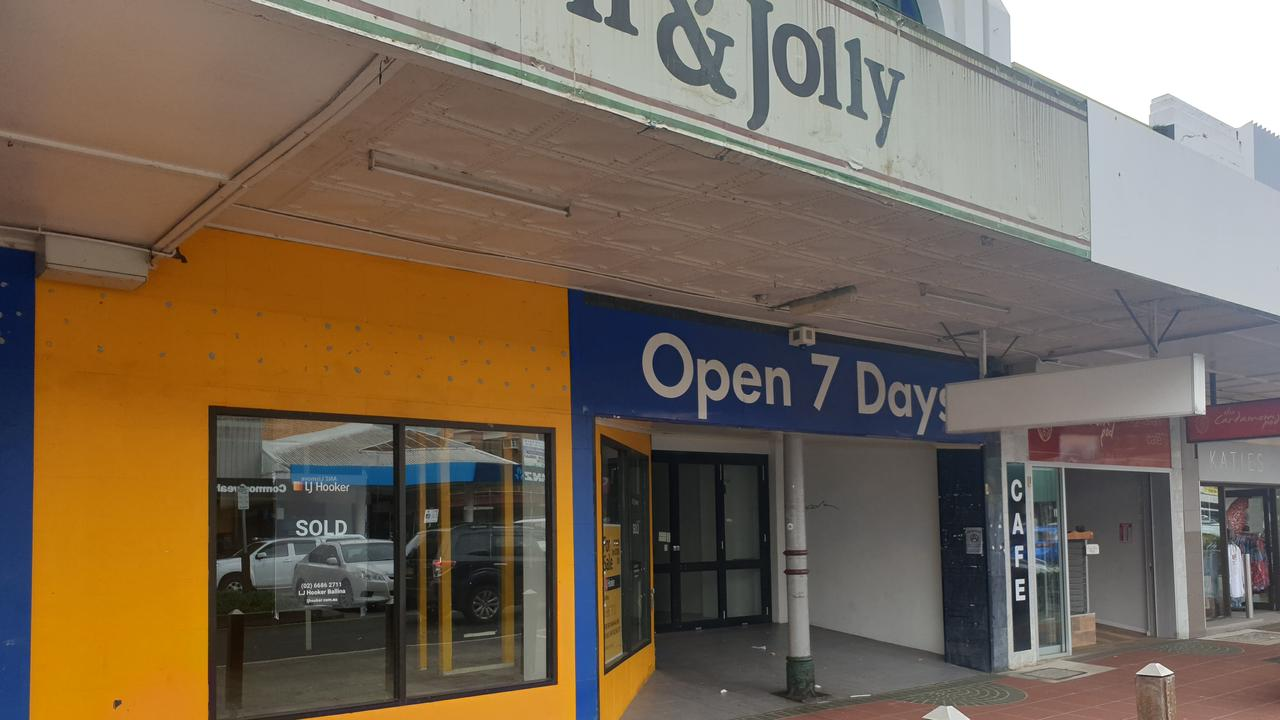 The Brown & Jolly building in Woodlark St, Lismore, has been sold.