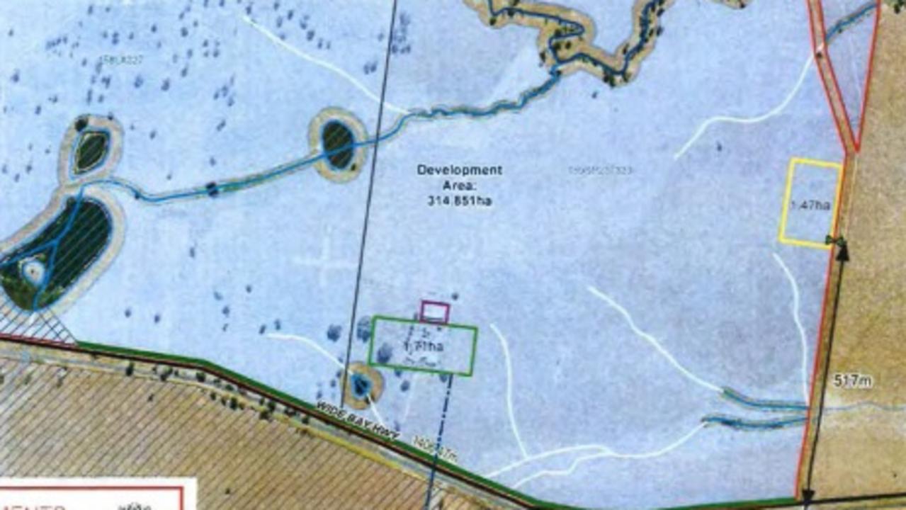 Part of the plans for Lightsource's solar farm development.