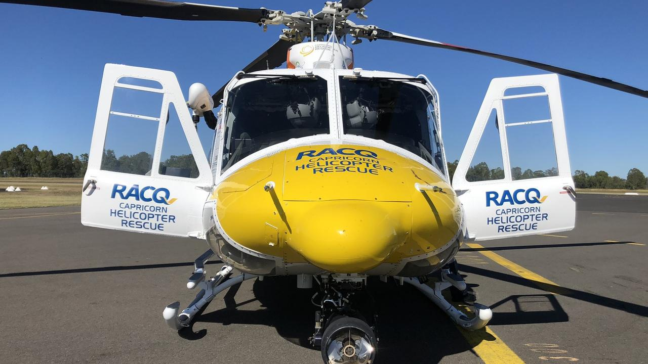 RACQ Capricorn Helicopter Rescue. Picture: Supplied