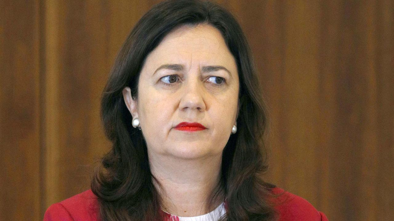Queensland Premier Annastacia Palaszczuk has slammed her NSW counterpart Gladys Berejiklian over a plea to keep borders open.