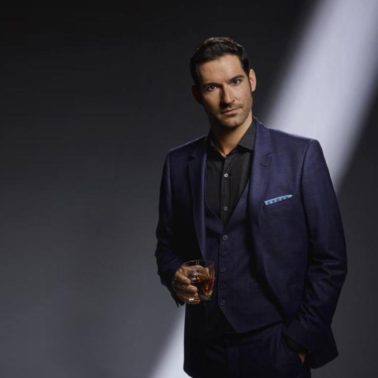 Lucifer, as played by Tom Ellis