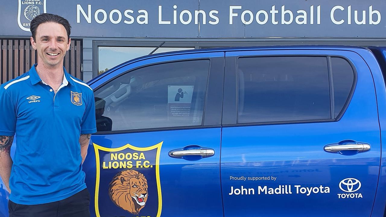Noosa Lions Football Club Premier men's team welcomes new coach Ben Amson.