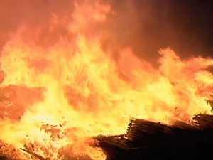 Motorhome destroyed in blaze on Bruce overnight