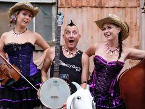 Hillbilly Goats set to rock Agnes festival