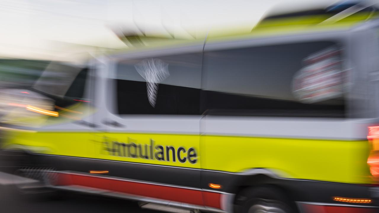 A 27-year-old Caboolture man has died after he was hit by a car while lying on a road north of Brisbane.