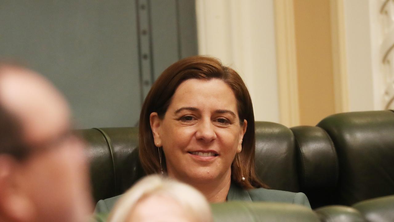 Deb Frecklington at Parliament . Pic Annette Dew