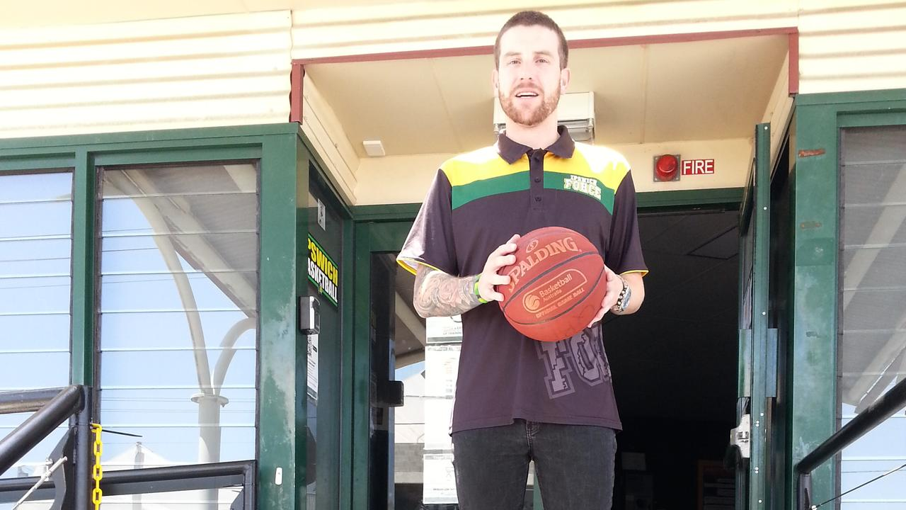 Ipswich Basketball Association development manager and Force women's coach Brady Walmsley has been busy overseeing new programs. Picture: David Lems