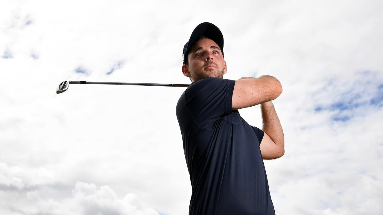 Pro golfer Charlie Dann is feeling fit and healthy for a big 2021. Picture: Patrick Woods