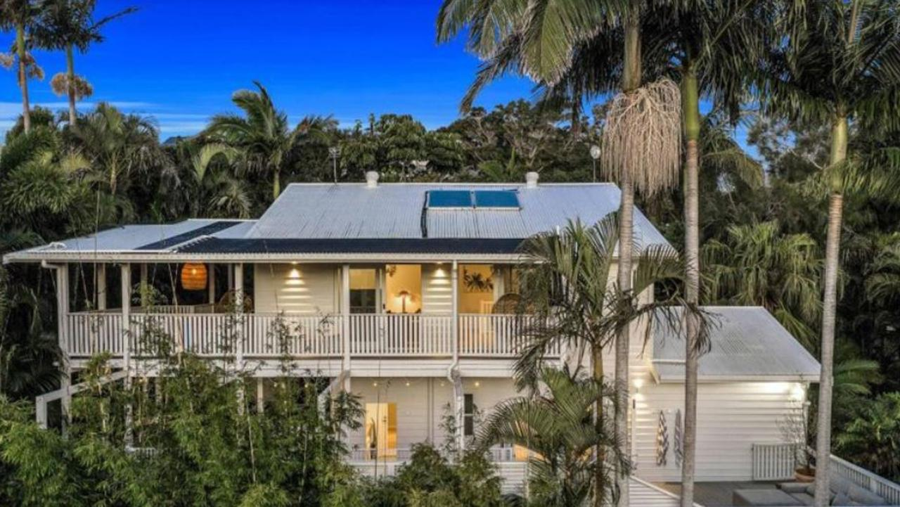 The house is an original beach cottage that has been beautifully restored and extended.