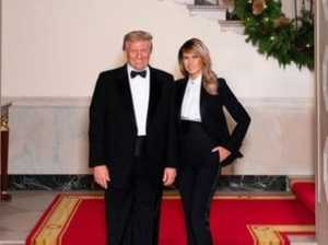 Melania's 'photoshopped' Christmas card