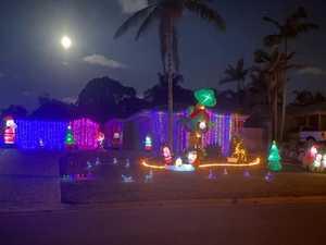 Christmas Lights around Gladstone