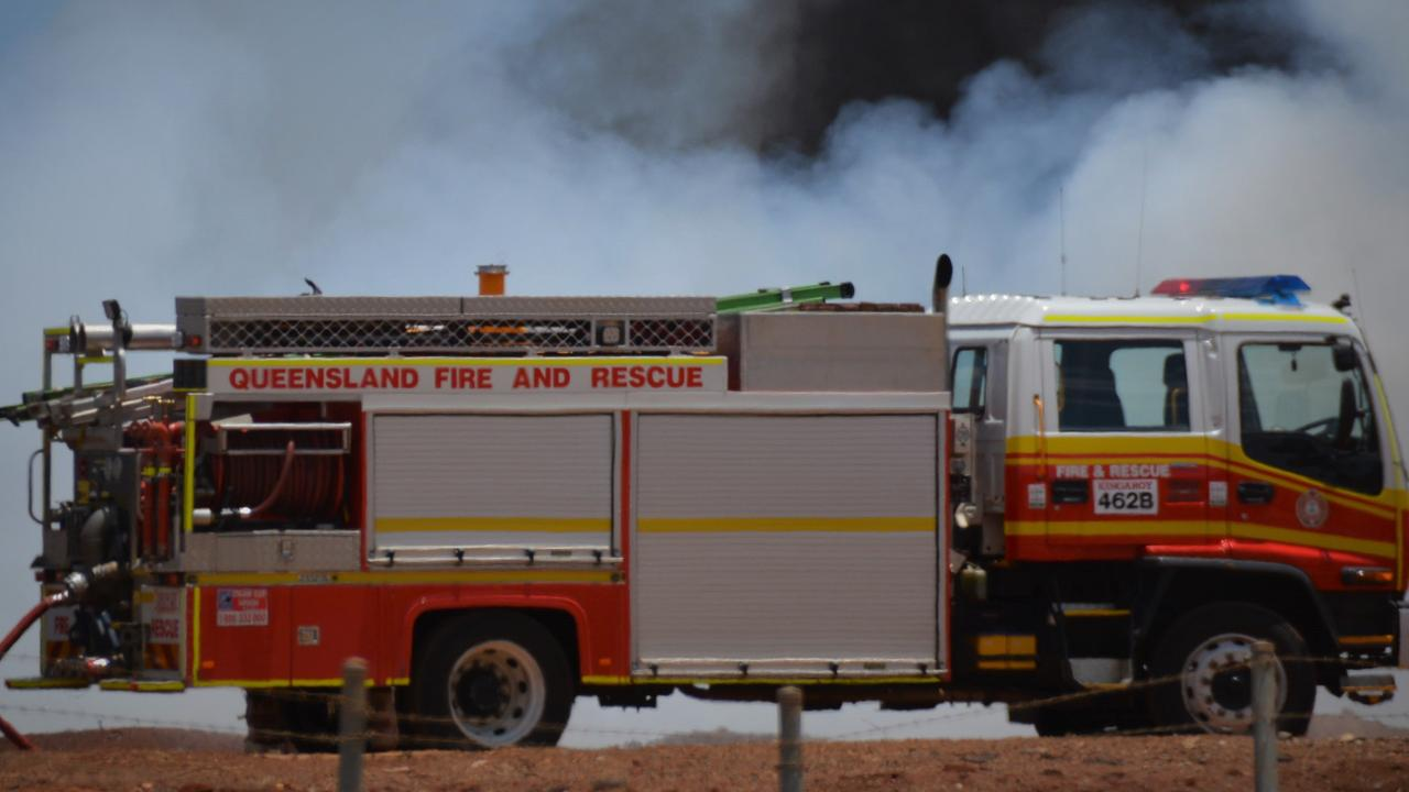 Fire crews were called to a shed fire in Riordanvale on Wednesday night. Picture: File