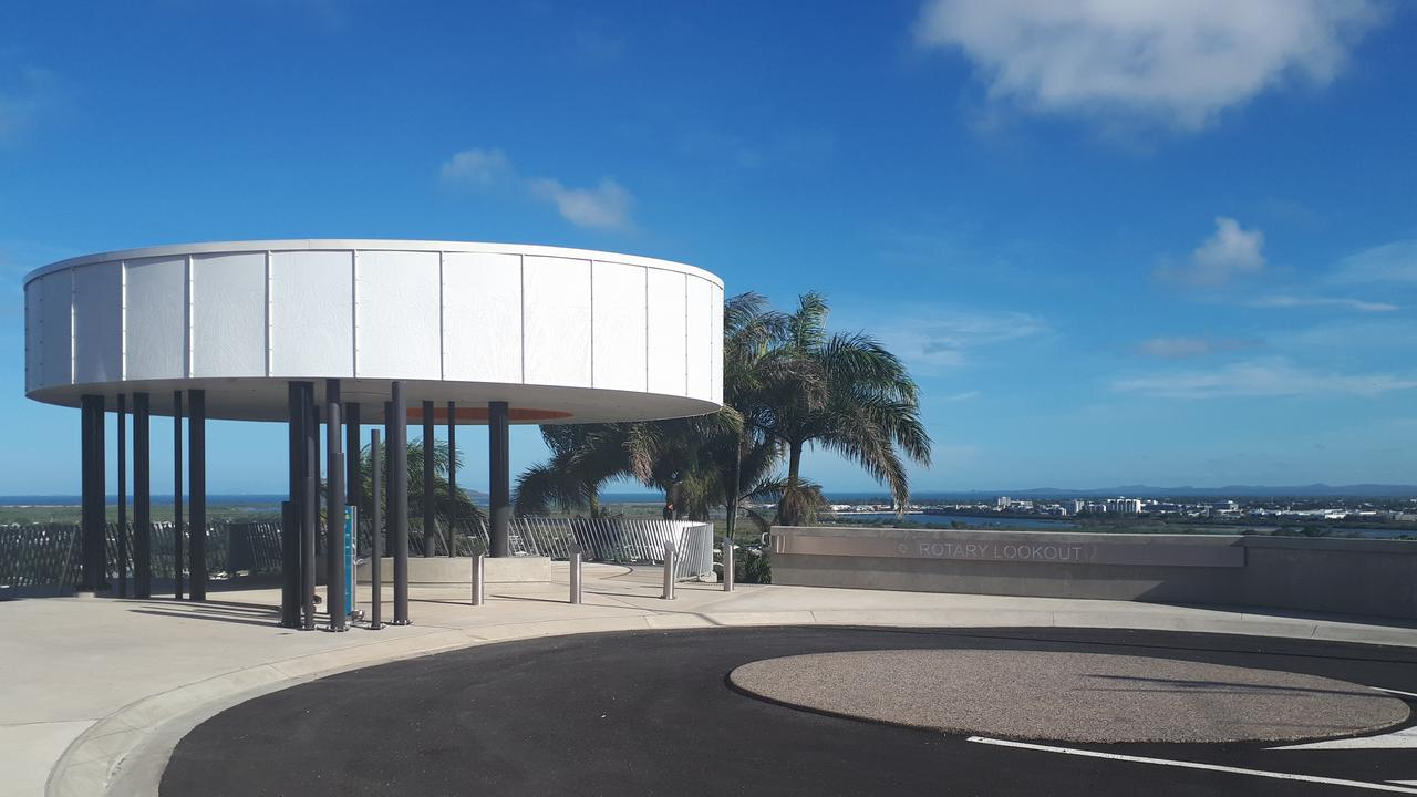 North Mackay Rotary Lookout boasts spectacular views. Picture: Contributed