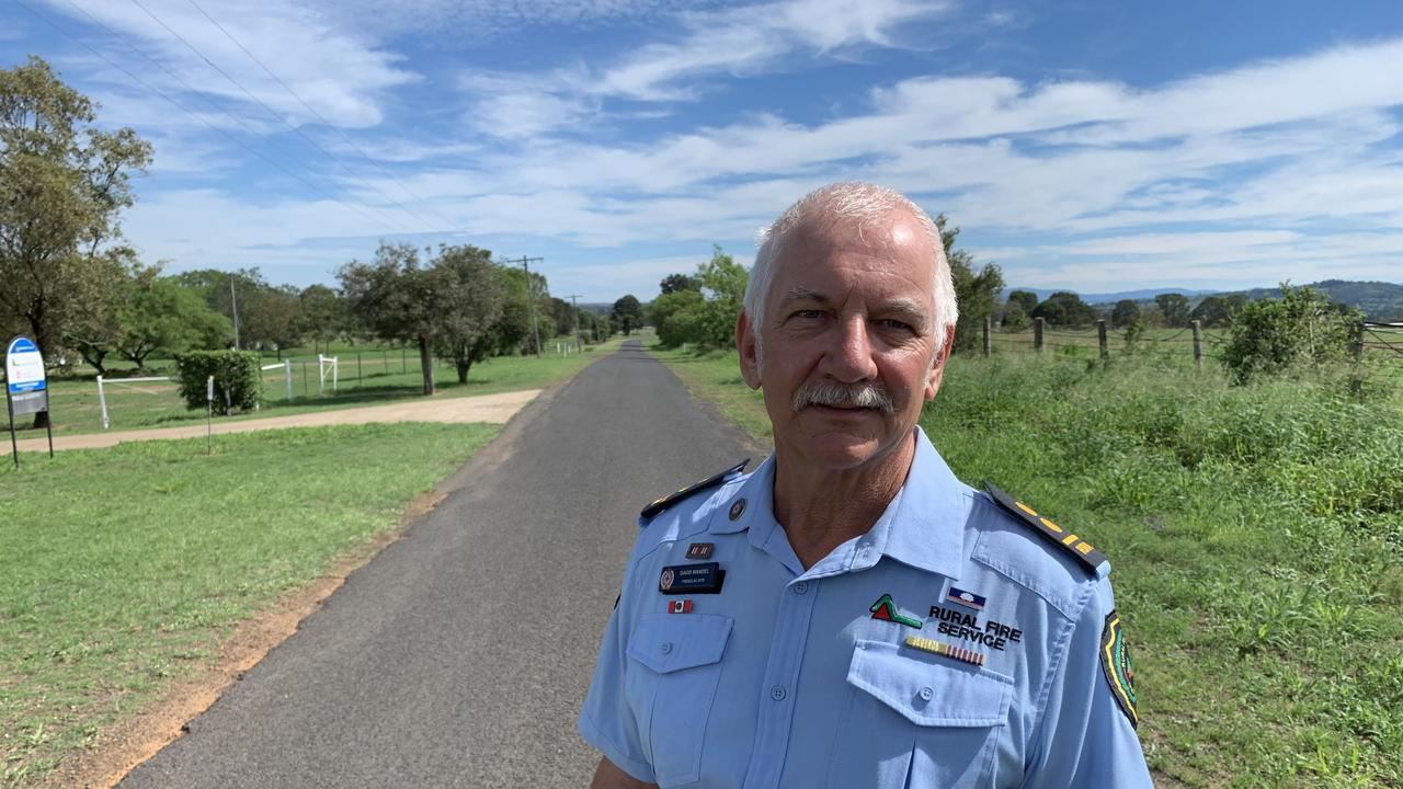 Rural Fire Service Queensland Prenzlau group officer Dave Wandel reflects on the 2011 floods disaster in the Lockyer and Brisbane valley areas.