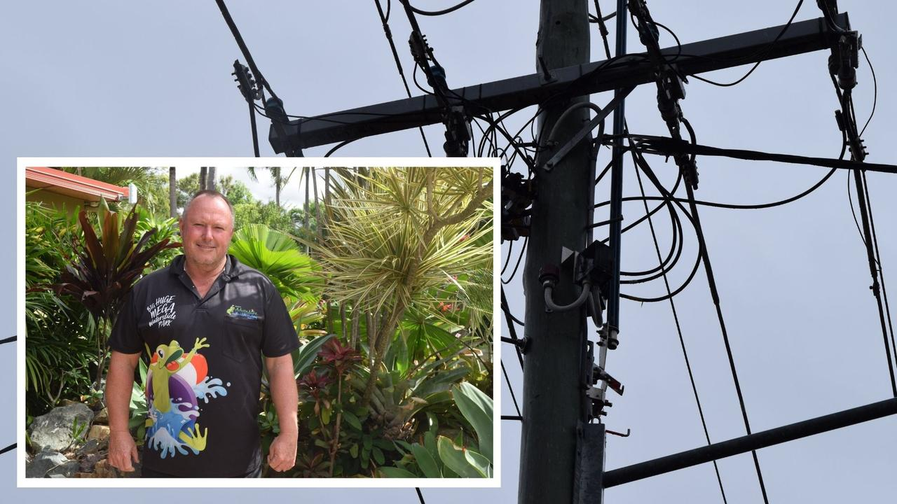 Big4 Adventure Whitsunday Resort owner Greg McKinnon said power outages came as another blow to tourism operators after months of struggling through the pandemic.
