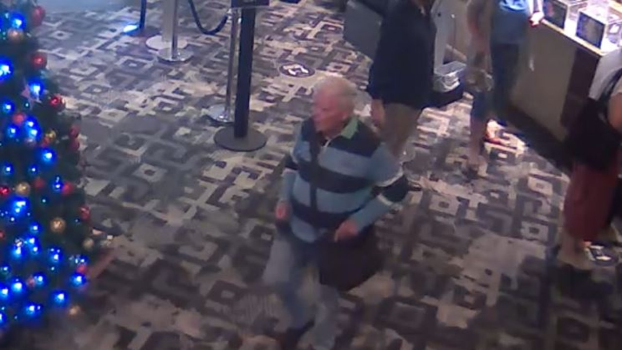 South Coogee man Peter McCarthy is seen leaving the York Hotel in Sydney's CBD in one of the last known pictures of him, captured by CCTV.