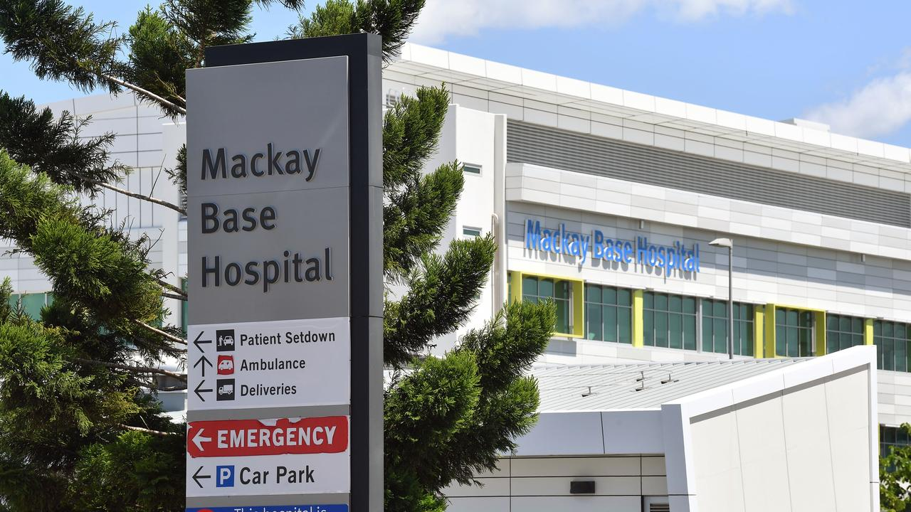 Mackay Base Hospital birthing unit has been busy this year. Picture: Tony Martin
