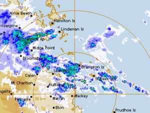 Falls of up to 105mm! Wet, wild Christmas for Mackay, CQ