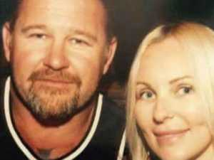 Bikie widow robbed while at funeral