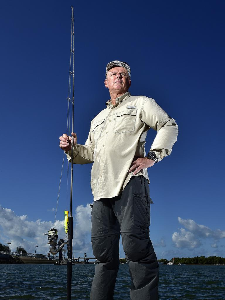 Fish City Charters owner Eddie Riddle. Picture: Matt Taylor