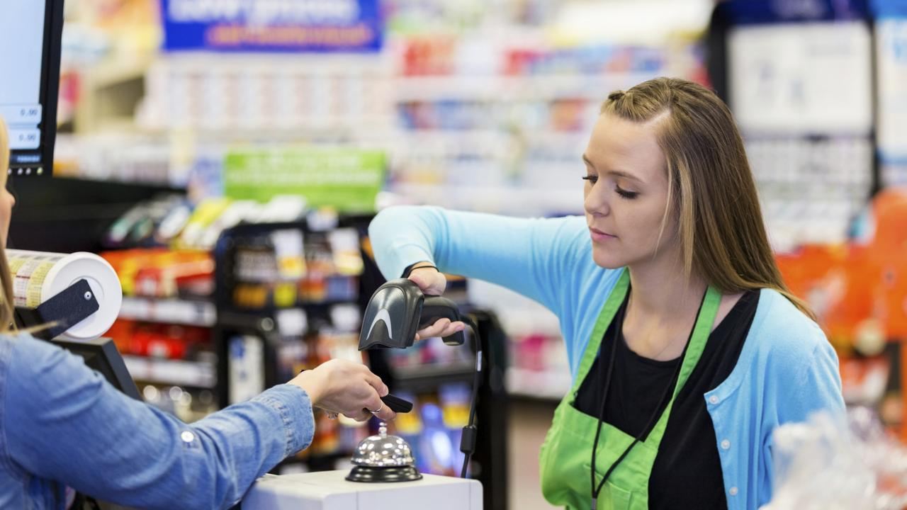 Retail workers say they often cop abuse during their shift.