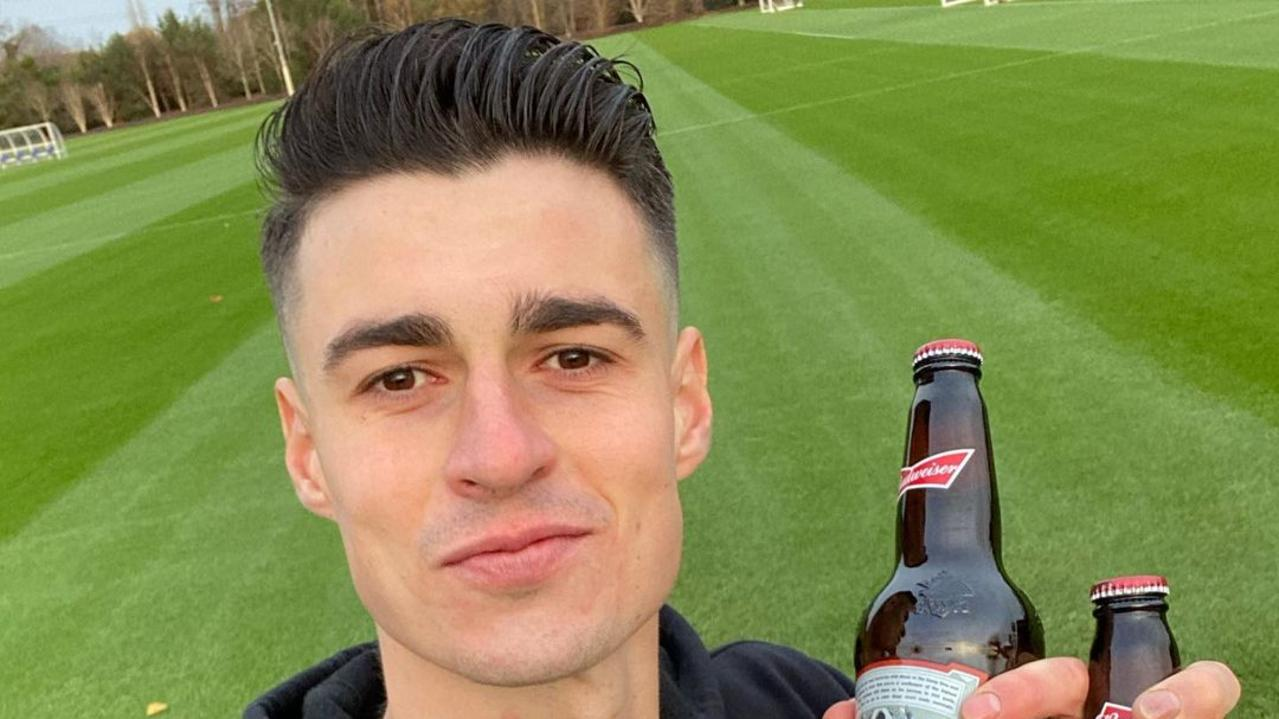 Beer company Budweiser has pulled a ruthless prank on football stars in the wake of Lionel Messi's record breaking goal scoring effort.