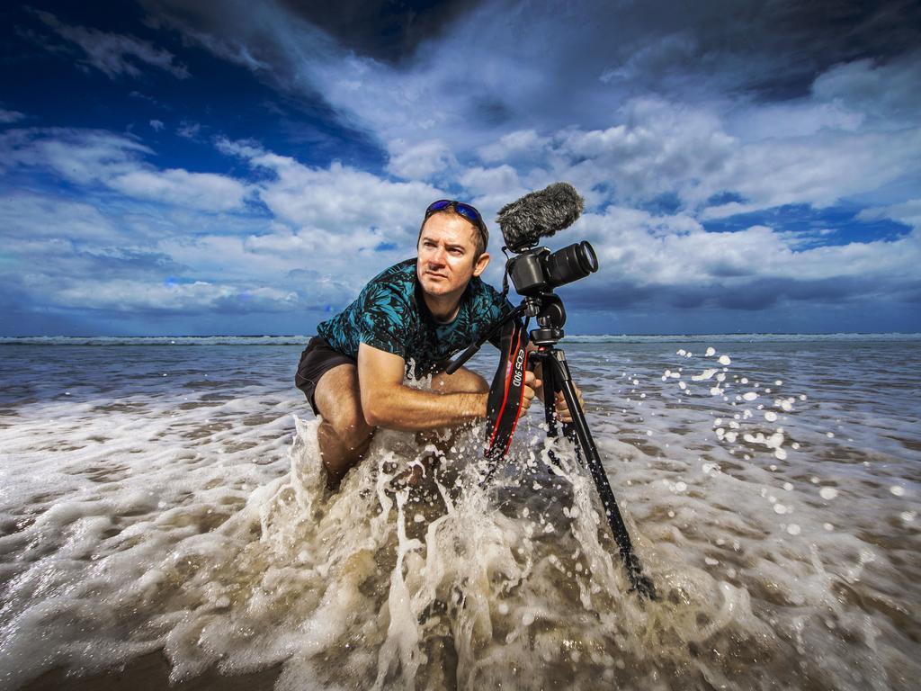 Gold Coast storm chaser Justin Noonan. Picture: Nigel Hallett