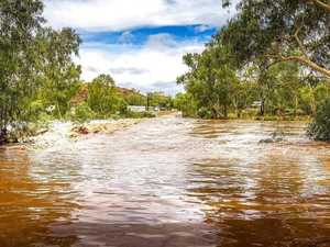 Storm warning as deluge dumps 95mm in 24 hours
