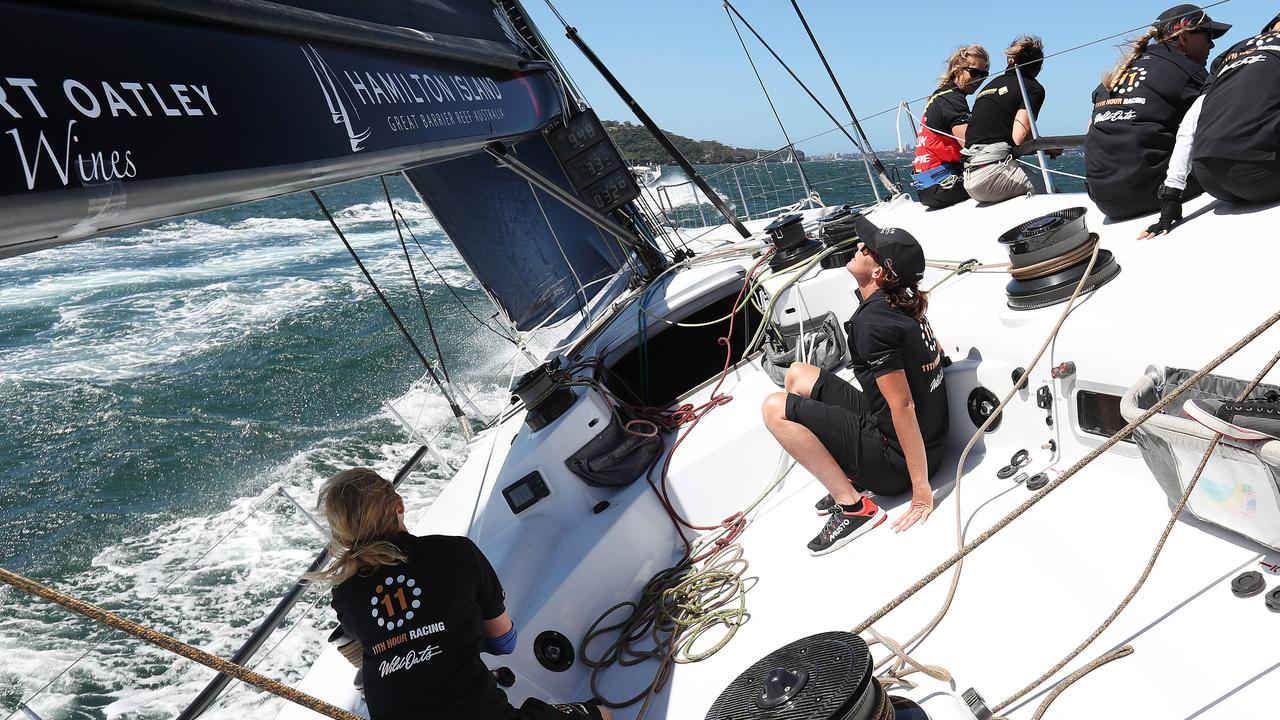 Stacey Jackson slippered an all-female crew to Hobart two years ago. Pic: Brett Costello