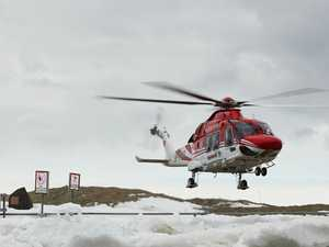 Aussie saved in dramatic Antarctic rescue