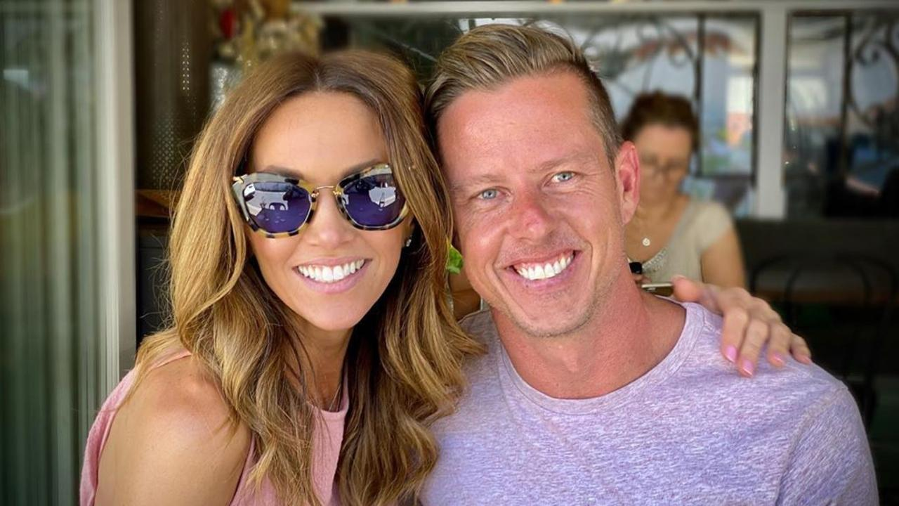 Kyly Clarke and James Courtney called it quits after a whirlwind romance.