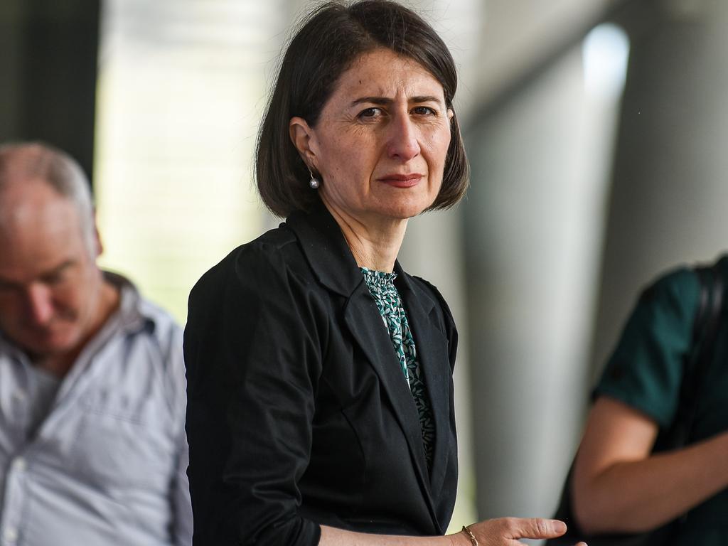 NSW Premier Gladys Berejiklian wants shoppers to boycott Sydney's CBD on Boxing Day to stymie the spread of coronavirus. Picture: Flavio Brancaleone / NCA NewsWire