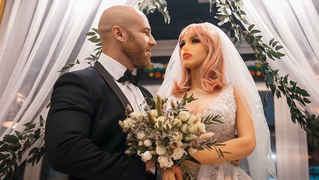A Kazakhstan bodybuilder who married a sex doll is already encountering the unique difficulties of his relationship.