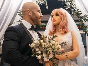 Tragic twist after bodybuilder marries a sex doll