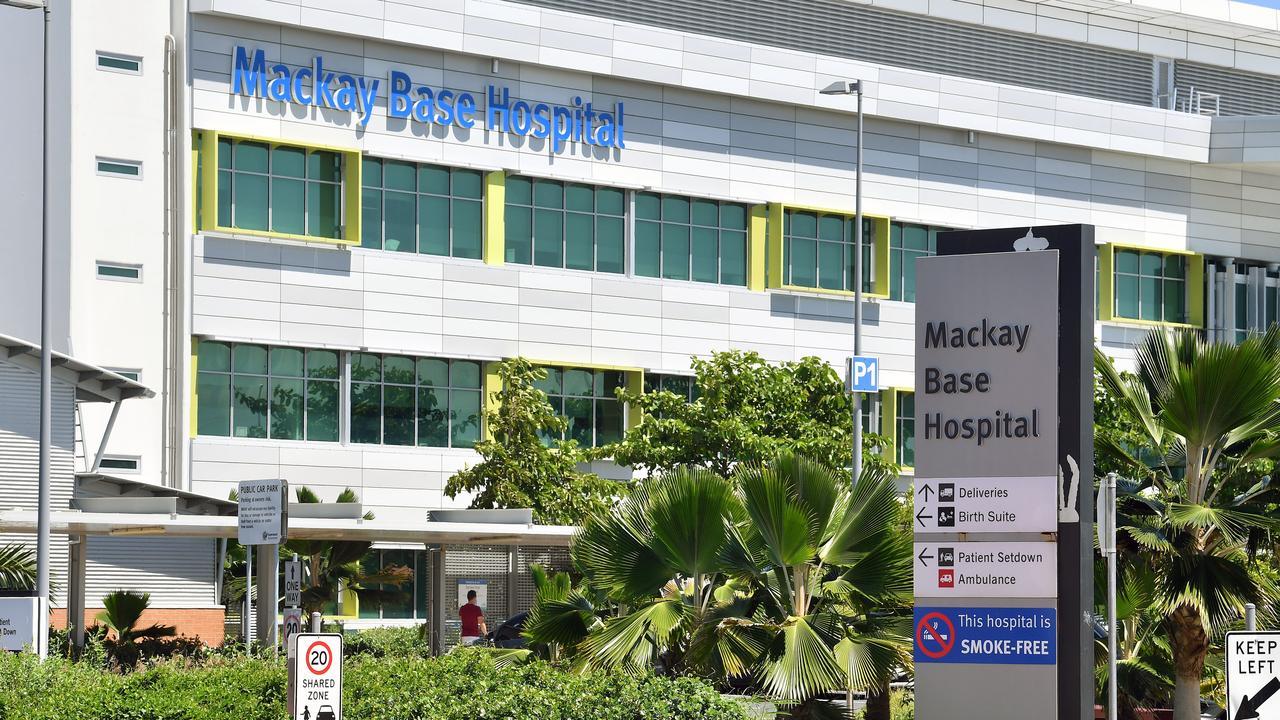 Mackay Base Hospital. Picture: Tony Martin
