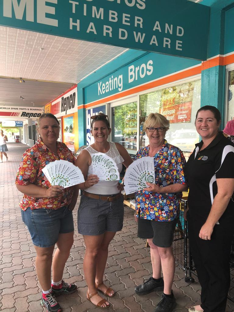 The Christmas Eve barrel contained more than 20,000 entry forms which equated to more than half a million dollars ($500,000) spent in the Chinchilla economy. Picture: Chinchilla Community Commerce and Industry Inc.