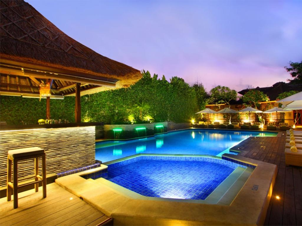 The old school Balinese style resort Alam KulKul is up for sale for $124 million. Picture: Supplied