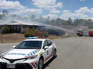 Man in hospital - Calliope home destroyed by fire on Boxing Day
