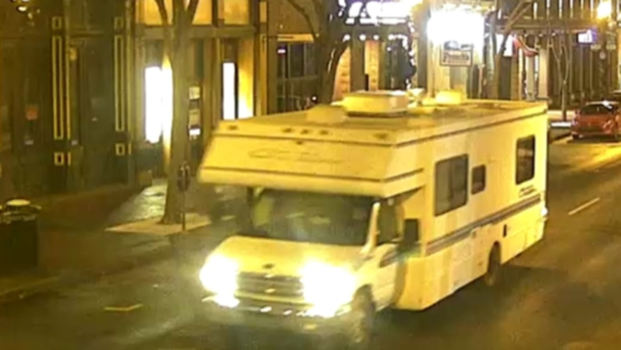Police have released an image of the RV involved in the Nashville blast. Picture: Twitter