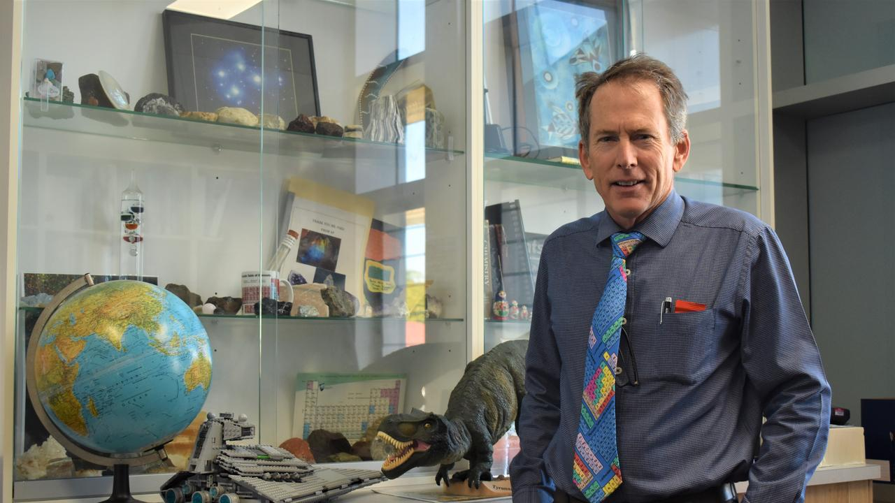 Mercy College Mackay principal Jim Ford has been voted Mackay's best principal. Picture: Heidi Petith