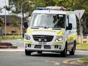 Bike rider suffers critical head injury after crash