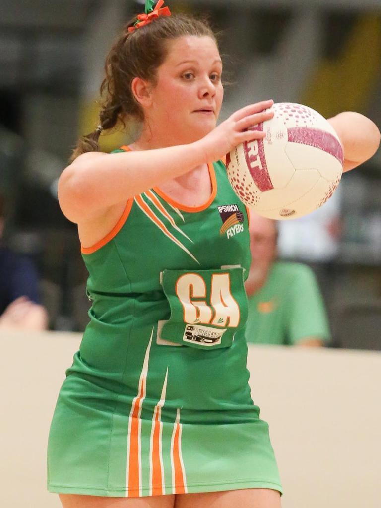 Ipswich Flyers netballer Emilie McInally
