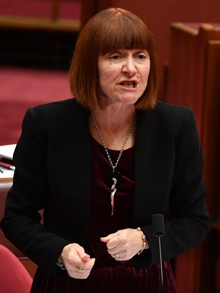 Greens Senator Rachel Siewert. Picture: AAP