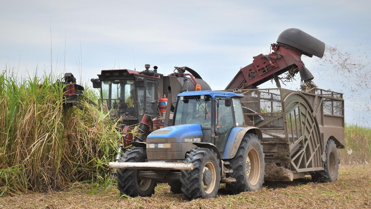 Mackay harvester Matt Vassallo was pleased to be nearing the end of the crushing season earlier in December, 2020. Picture: Heidi Petith