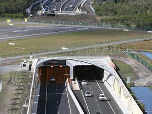 Traffic changes on motorway at Tugun tunnel this week