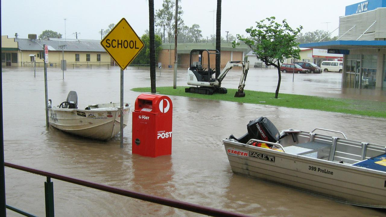 Theodore during the 2010-11 Queensland floods. FILE PHOTO