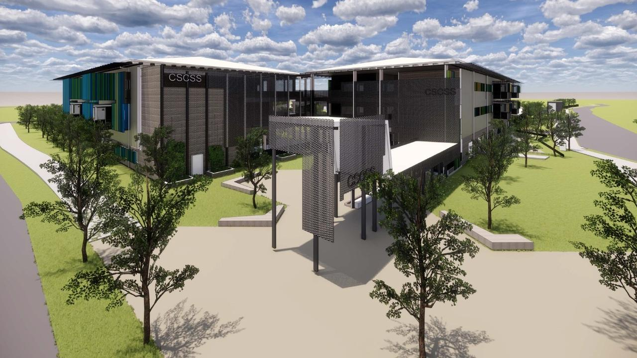 A concept image of the new Caloundra South State Primary School, announced by Queensland Government on July 14.