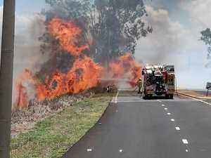 Six fires being patrolled across Gladstone region