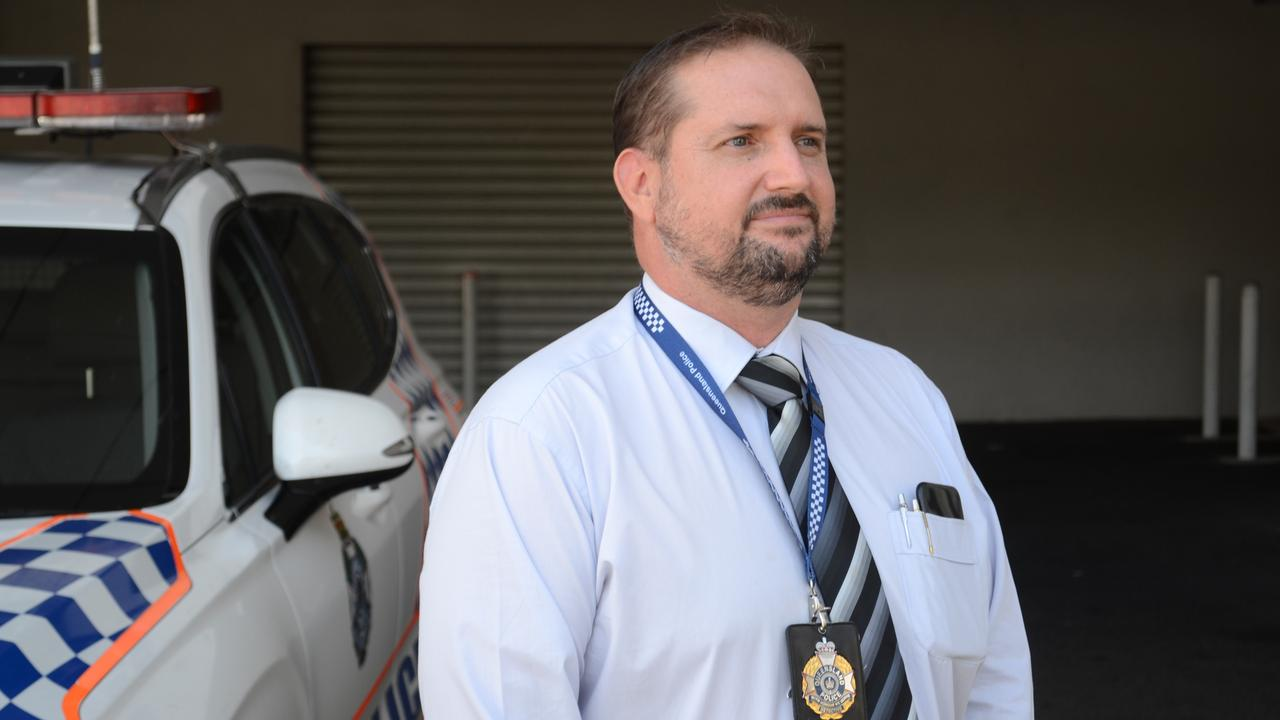 Detective Sergeant Jason Milner of Rockhampton Police outlined charges against Christmas Eve's hit and run driver
